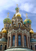 Temple Spas-na-krovi. Russia, St.Petersburg. — Stock Photo