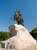 Russia. St. Petersburg. Bronze Horseman — Stock Photo