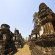 Stock Photo: Wat Chedi Chet Thaeo