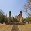 Wat Chedi Chet Thaeo - Stock Photo