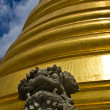 Stock Photo: Golden chedi