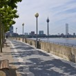 Stock Photo: Rhine promenade