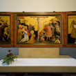 Old altar — Stock Photo