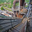 Landschaftspark Duisburg-Nord — Stock Photo