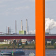 Rhine orange — Stockfoto