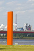 Rhine orange — Stock fotografie