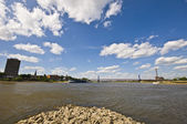 Mouth of the ruhr — Stock Photo