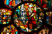 Stained glass windows — Stock Photo