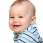 Portrait of a cute little boy — Stock Photo #5414392