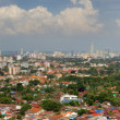 Aerial view to Georgetown city, Malaysia — Stock Photo