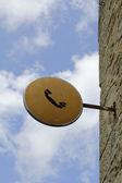Vieja señal de teléfono — Foto de Stock