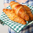 Stock Photo: Croissants