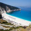 Myrtos beach, Kefalonia — Stock Photo