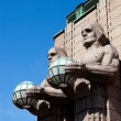 Stock Photo: Main railway station, Helsinki, Finland