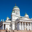 Stock Photo: Tuomiokirkko church in Helsinki, Finland