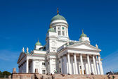 Tuomiokirkko church in Helsinki, Finland — Stock Photo
