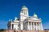 Tuomiokirkko church in Helsinki, Finland — Stock Photo