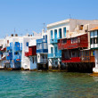 Stock Photo: Little Venice, Mykonos, Greece