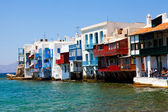 Little Venice, Mykonos, Greece — Stock Photo