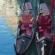 Stock Photo: Gondolas. Venice.