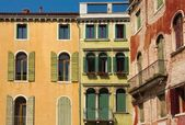 Venetian windows. — Stock Photo