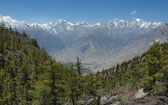 Himalaya mountain range. Annapurna region. Nepal. — Stock Photo