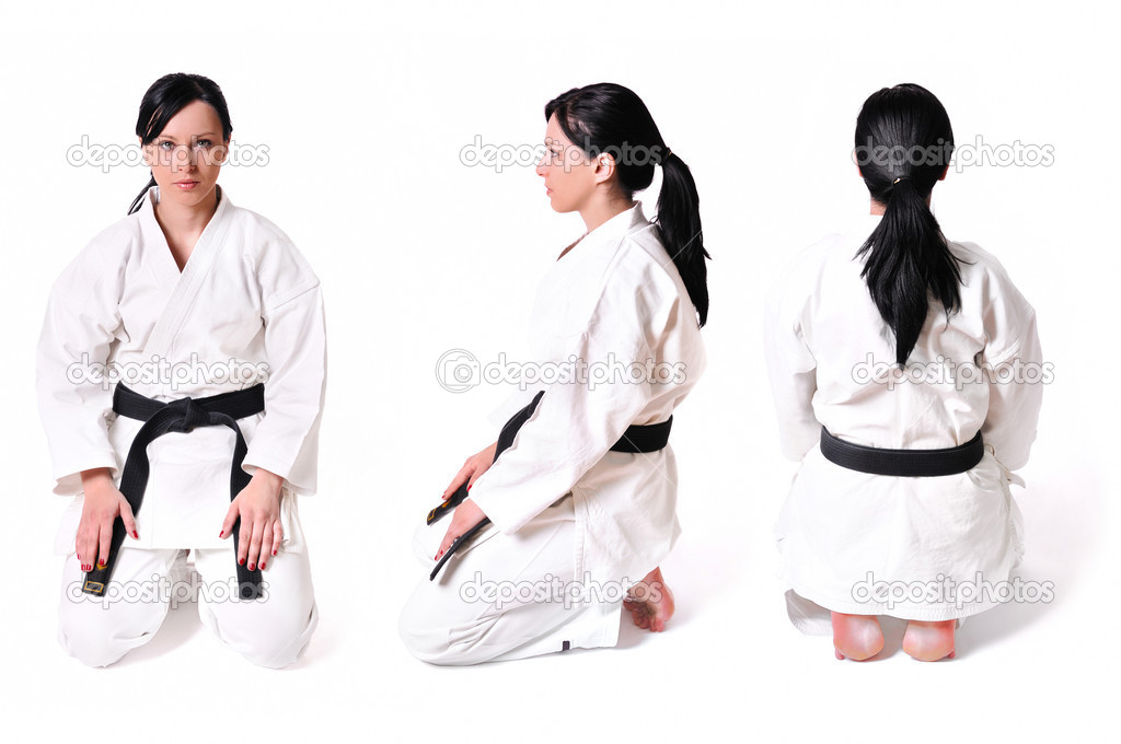 Karate WomanKarate Woman Beats Man