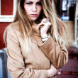 Woman in coat — Stock Photo #5471864