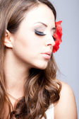 Женщина красоты — Стоковое фото