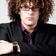 Stock Photo: Curly hair