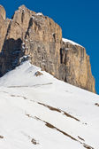 Rosegarten mountain in tirol — Stock Photo