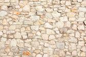 Mediterranean nature stone wall background — Stock Photo