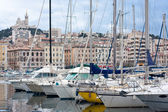Vieux port of marseille — Stock Photo
