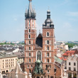 St. Mary's church in Krakow - Stock Photo