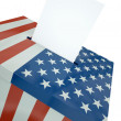 US ballot — Stock Photo #5926957