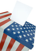 US ballot — Stock Photo