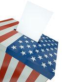 US ballot — Stock Photo