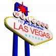 Welcome to Las Vegas — Stock Photo