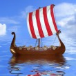 Viking ship — Foto de Stock