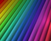 Diagonal Rainbow — Stock Photo