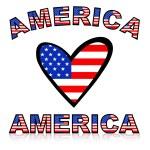 America — Stock Photo