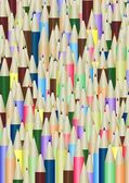 Lots of pencils — Stock Photo