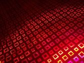 Red squares — Stock Photo