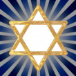 Star of David symbol — Foto Stock