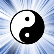 Yin Yang symbol — Stock Photo
