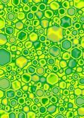 Lime Cube Blobs — Stock Photo