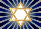 Star of David symbol — Stock fotografie