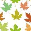 Maple leaf seamless tile — Foto Stock