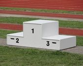 Podium — Stock Photo