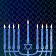 Royalty-Free Stock Photo: Hanukkah menorah